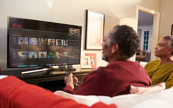 Customers 55+ Receive their first On Demand Movie Rental FREE Each Month from Millennium Satellite Connection Inc. in Goldsboro, North Carolina
